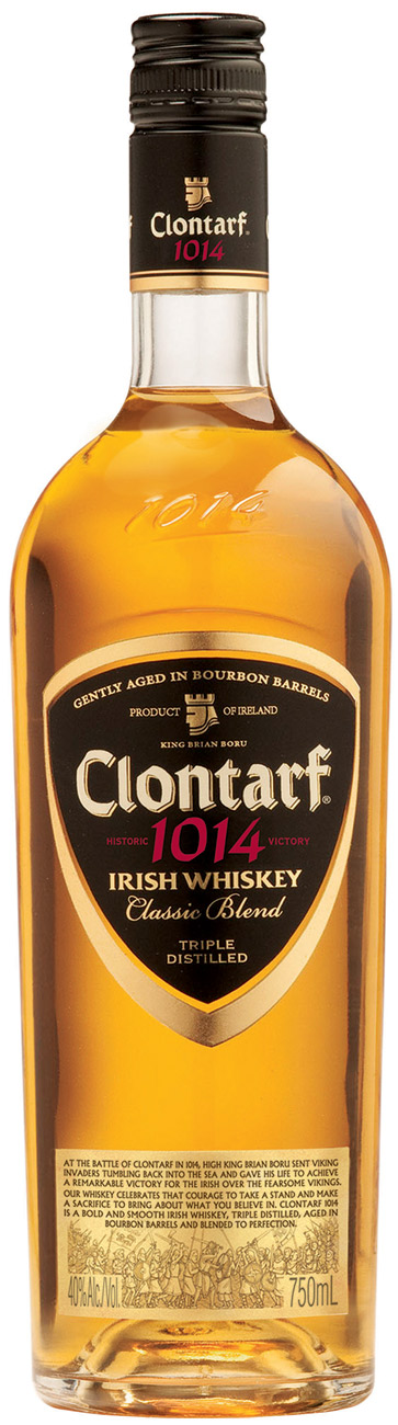 Clontarf Black Label Irish Whiskey