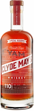 Clyde Mays Special Reserve Alabama Style Whiskey 750ML