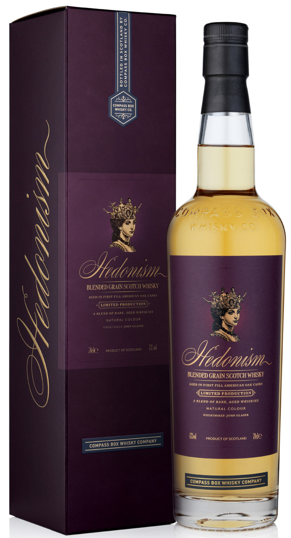 Compass Box Hedonism Blended Grain Whisky