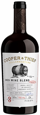 Cooper & Thief Red Wine Aged in Bourbon Barrels