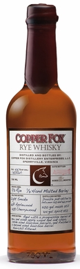 Copper Fox Rye Whiskey