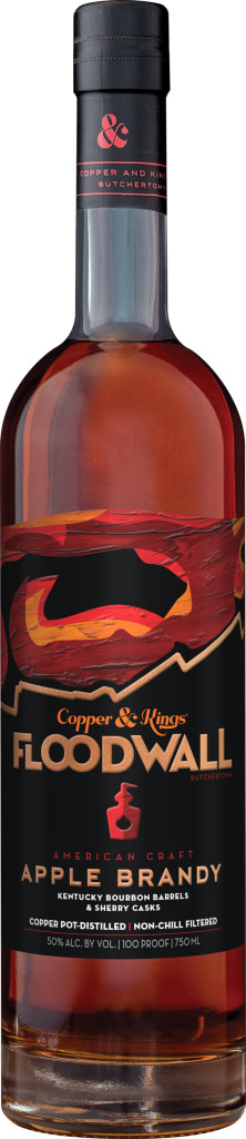 Copper & Kings Floodwall American Craft Apple Brandy