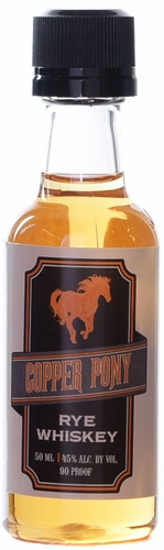 Copper Pony Rye Whiskey 50ml