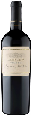 Corley Napa Valley Proprietary Red Wine 750ML (case of 12) 2007