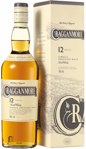 Cragganmore 12 Year Old Single Malt Scotch