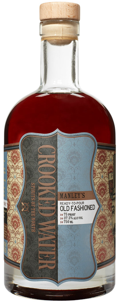 Crooked Water Manleys Old Fashioned Ready to Pour Cocktail 750ML