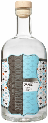 Crooked Water Simple Vodka 750ML