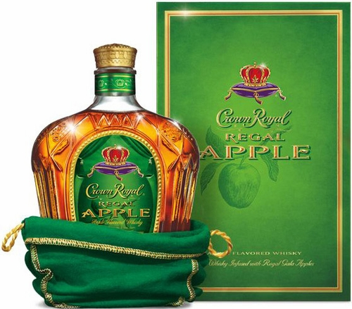 Crown Royal Regal Apple Flavored Whisky