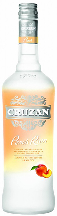 Cruzan Peach Flavored Rum 1L