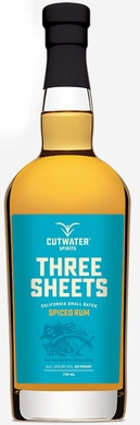 Cutwater Three Sheets Spiced Rum 750ML