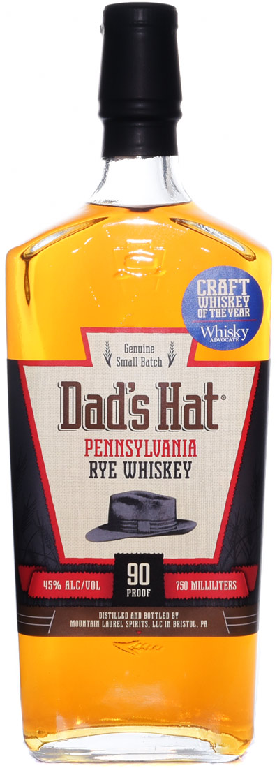 Dads Hat Pennsylvania Classic Rye Whiskey 750ML