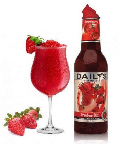 Daily's Strawberry Cocktail Mix 1L