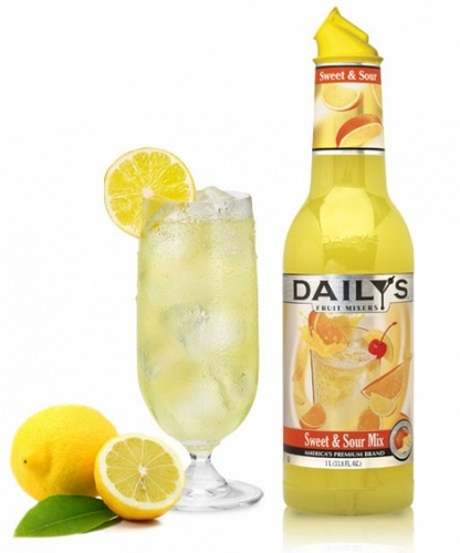 Daily's Sweet & Sour Cocktail Mix 1L