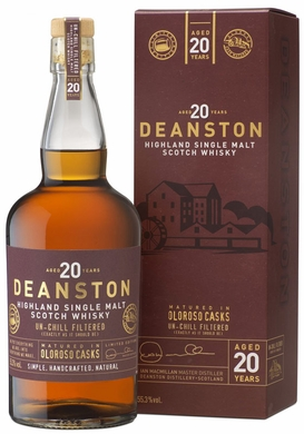 Deanston 20 Year Old Oloroso Cask Single Malt Scotch