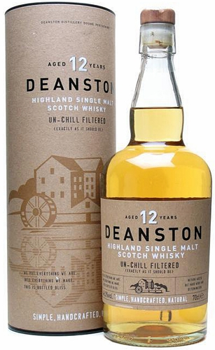 Deanston Un-Chill Filtered 12 Year Old Single Malt Scotch