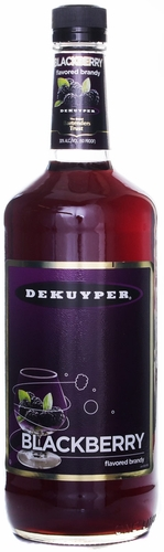 Dekuyper Blackberry Brandy 1L