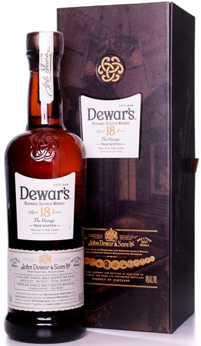Dewars 18 Year Old Founders Reserve Blended Scotch 750ML