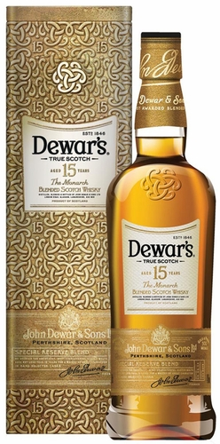 Dewars the Monarch 15 Year Old Blended Scotch 750ML