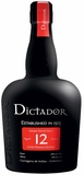 Dictador 12 Year Old Rum 750ML