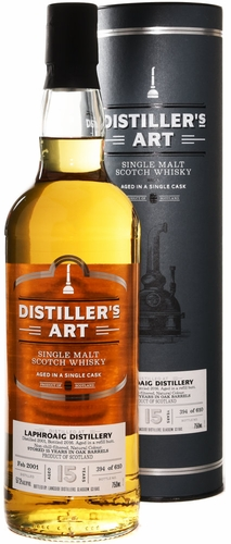 Distiller's Art Laphroaig 15 Year Old Single Malt Scotch