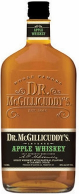Dr. Mcgillicuddys Apple Flavored Whiskey 1L