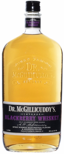 Dr. Mcgillicuddy's Blackberry Flavored Whiskey 1L