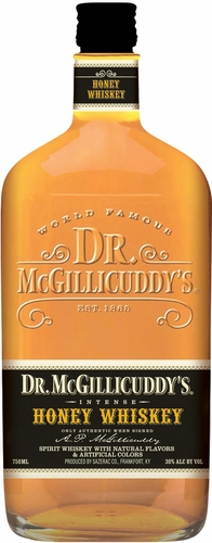 Dr. Mcgillicuddy's Honey Flavored Whiskey 1L