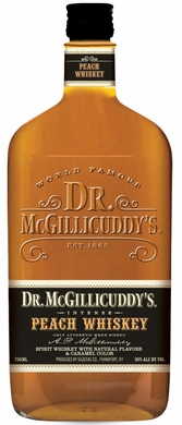 Dr. Mcgillicuddy's Peach Flavored Whiskey 1L