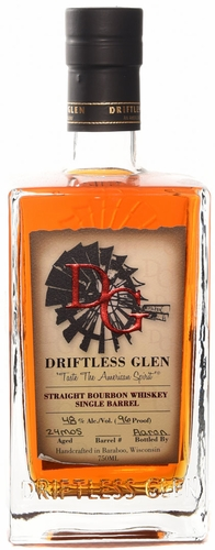 Driftless Glen Straight Bourbon Whiskey Single Barrel