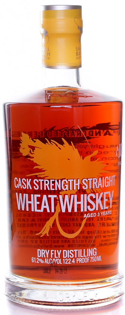 Dry Fly Cask Strength 3 Year Old Wheat Whiskey- Ace Spirits Single Barrel Selection