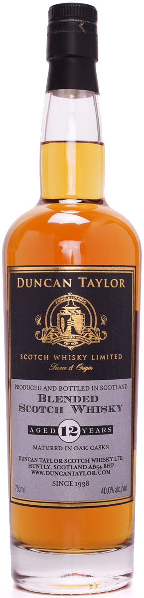 Duncan Taylor 12 Year Old Blended Scotch Whisky 750ML
