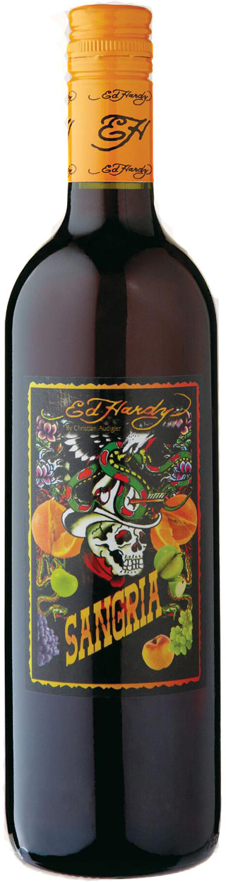 Ed Hardy Sangria Red Sangria 750ML