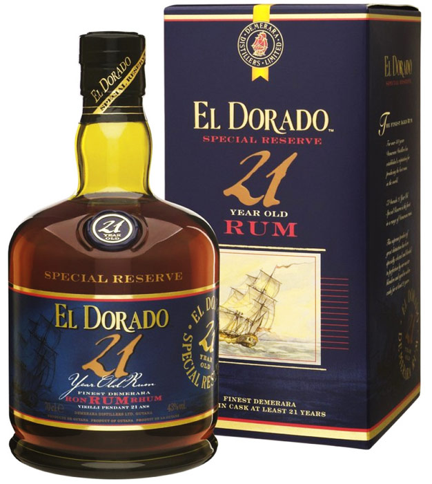 El Dorado 21 Year Old Rum 750ML