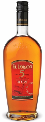 El Dorado 5 Year Old Rum 750ML