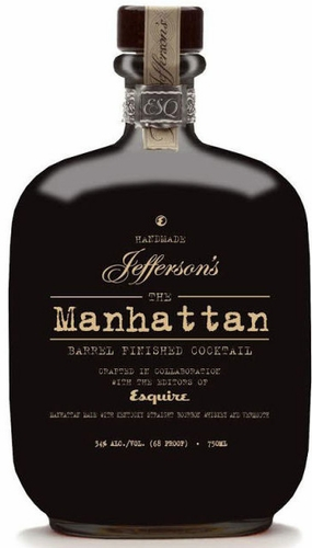 Esquire & Jefferson's Manhattan Barrel Finished Cocktail