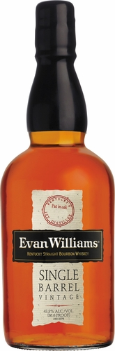 Evan Williams Single Barrel Bourbon 750ML 2012