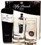Fifty Pounds London Dry Gin Gift Set
