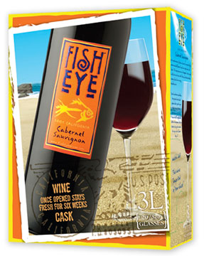 Fish Eye Cabernet Sauvignon 3L Box (case of 6)