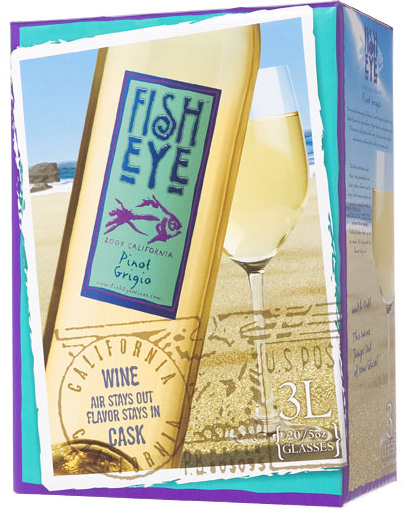 Fish Eye Pinot Grigio 3L Box (case of 6)