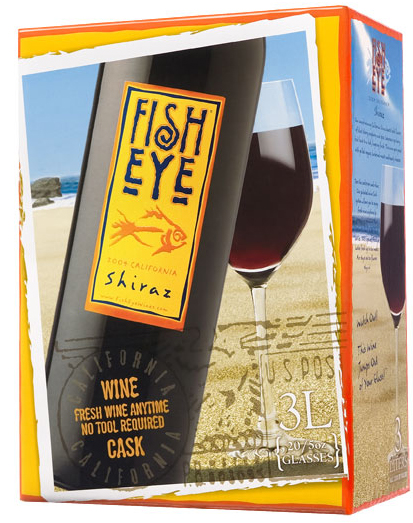 Fish Eye Shiraz 3L Box (case of 6)