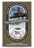 Flat Earth Black Helicopter Coffee Stout 4PK
