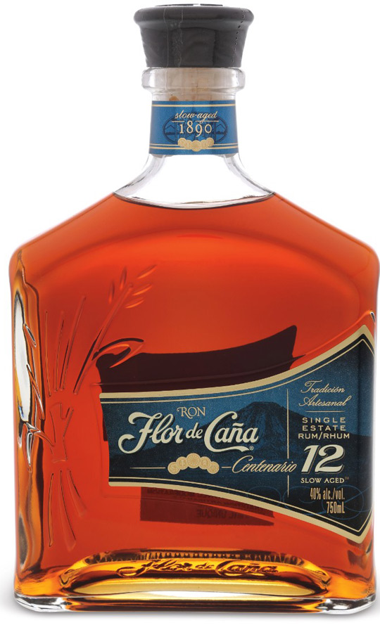 Flor de Cana Centenario 12 Year Old Rum 750ML