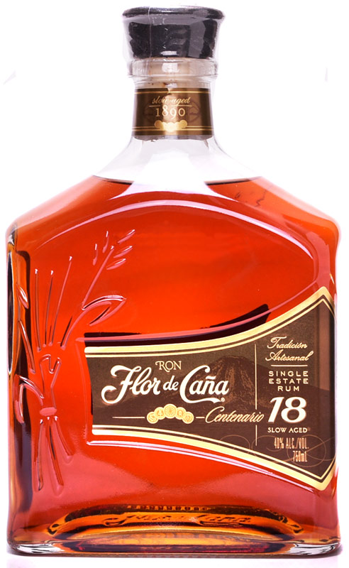 Flor de Cana Centenario 18 Year Old Rum 750ML