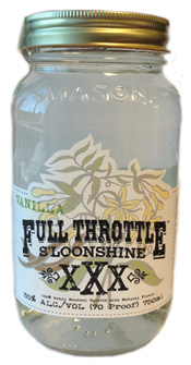 Full Throttle Sloonshine Vanilla Flavored Moonshine 750ML