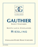 G Gauthier Hillside Riesling