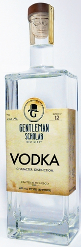 Gentleman Scholar Vodka