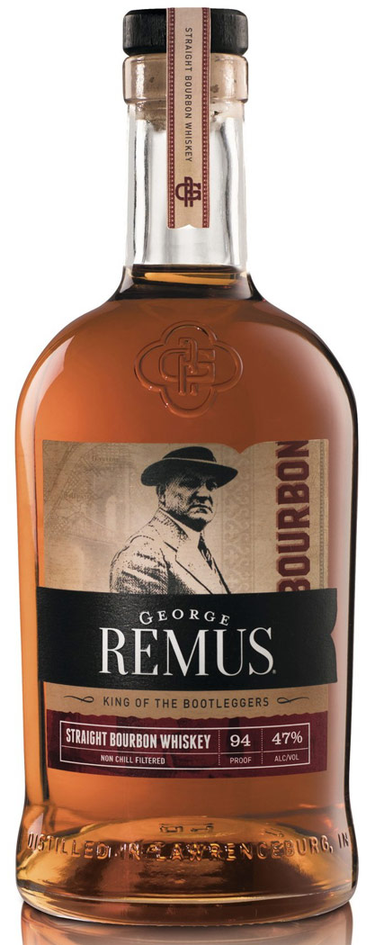 George Remus Straight Bourbon Whiskey 750ML