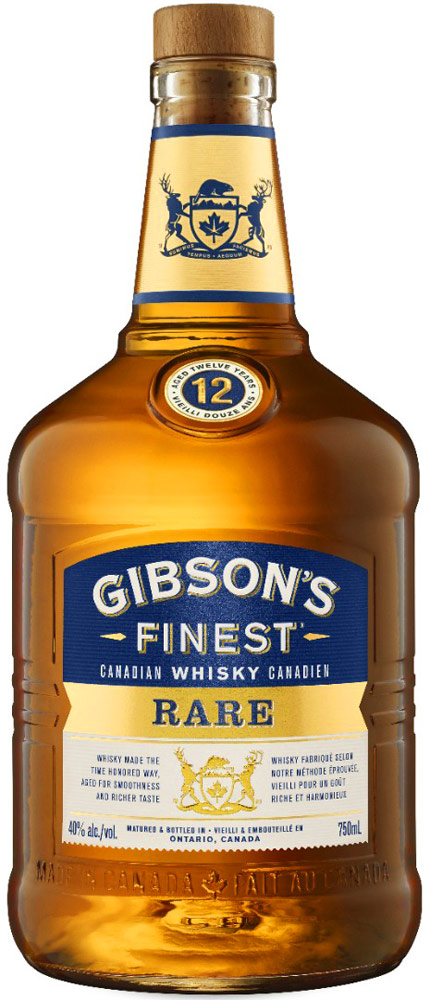 Gibsons Finest Rare 12 Year Old Canadian Whisky