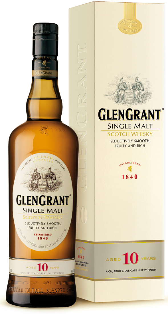 Glen Grant 10 Year Old Single Malt Scotch