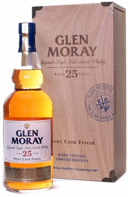 Glen Moray 25 Year Portwood Finished Single Malt Scotch 1988